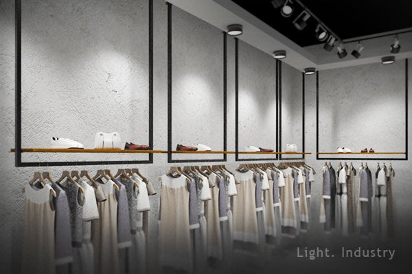 ~ 輕工業 ~極簡方管實木板垂掛式ㄇ型吊衣架~置物架吊衣桿層板天花板吊掛壁掛收納展示架服飾