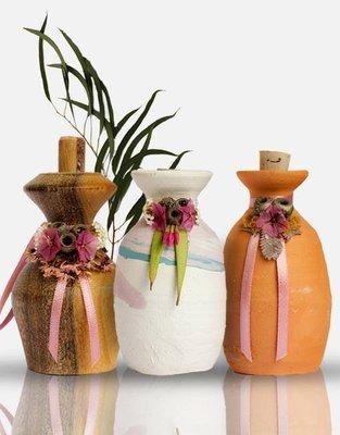 ※澳洲代購-預購※《Emu Ridge》Oil Pots 純手工薰香陶瓶-白陶瓶$300