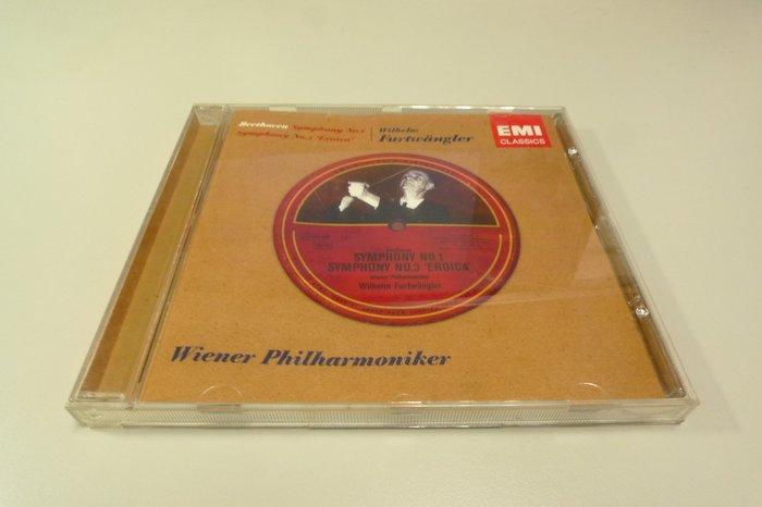 Furtwangler 福特萬格勒 Beethoven 貝多芬第一號和第三號交響曲 Eroica 英雄