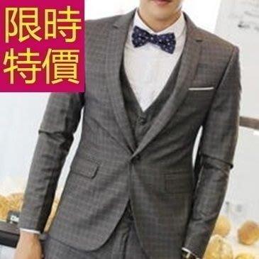 西裝外套 男西服(單外套)-收腰學院風夜店質感2色59t41[韓國進口][米蘭精品]