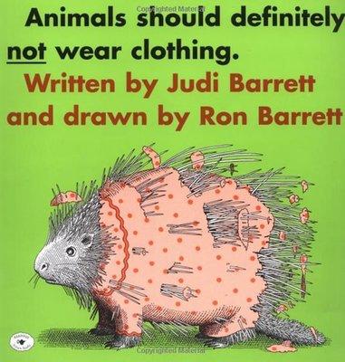 小貝比的家*ANIMALS SHOULD DEFINITELY NOT WEAR CLOTHI ,/單JYCD/3-6歲