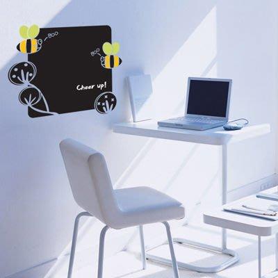 小妮子的家@ 蜜蜂黑板壁貼/牆貼/玻璃貼/ 磁磚貼/汽車貼/家具貼/冰箱貼