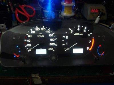 * 鎮鋒LED 專業車用儀表改裝 *NISSAN 霹靂馬 PRIMERA P11 改LED式 儀表板燈 儀表板 儀表燈
