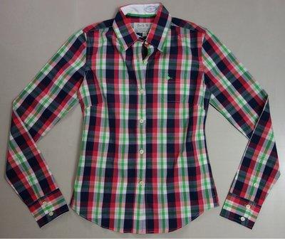 MISHIANA 英國休閒品牌 JACK WILLS 女生款棉質格子襯衫 ( 特價出售 )
