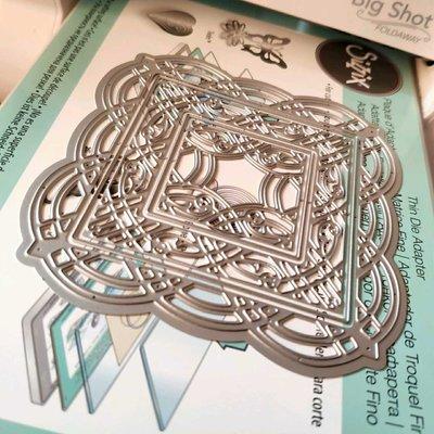 阿里家 scrapbook DIY相冊卡片薄板模具 19007 蕾絲花邊 賀卡 紙藝  模板
