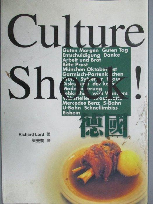 【書寶二手書T9/地理_KLC】Culture Shock!德國_Richard Lord
