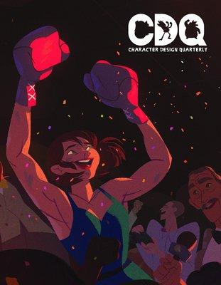 【布魯樂】《1月預購中》[美版書籍]CDQ15 人物角色設計季刊 Vol.15 (9781912843053)