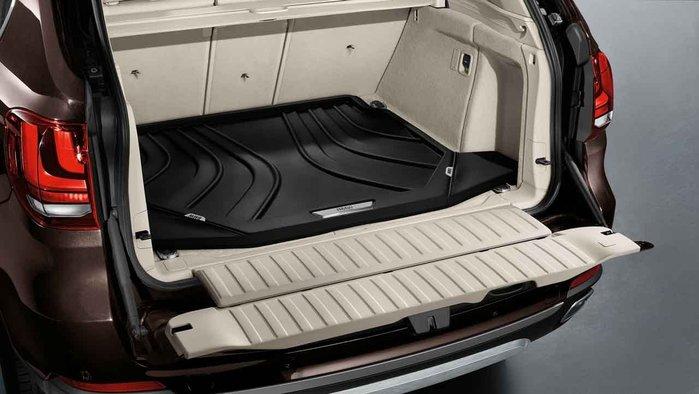 【樂駒】BMW F15 F85 X5 X5M 原廠 車內 周邊 精品 行李墊 後車廂 襯墊 防水 導水線