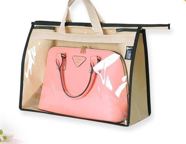 手提式透明包包防塵袋 國際精品bvlgari 名牌包 JAMBO手提包側背包 肩背包 LV手拿包 皮包 收納袋