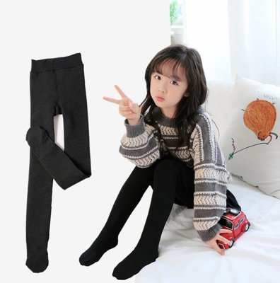 ~Wow 鋪~GA181205     女童中大童內刷毛保暖褲襪