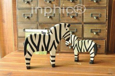 INPHIC-北歐動物原木雕刻斑馬創意...