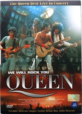 DVD/ Queen - We Will Rock You 二手韓版