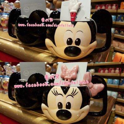 香港 迪士尼代購 Disney 米奇 米妮 馬克杯 情侶杯 湯匙 對杯 (香代兒)