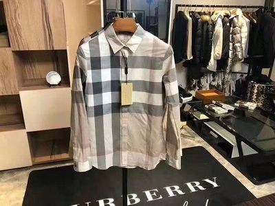 【全新正貨私家珍藏】Burberry 經典格紋棉質女款長袖襯衫