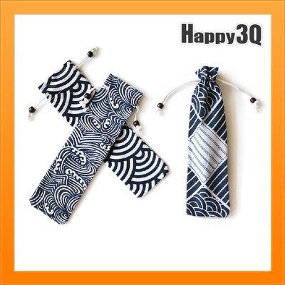 筷袋日式湯匙筷布袋便攜餐具筷子勺子套裝...