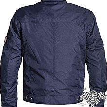 ♛大鬍子俱樂部♛ Helstons® Cobra Textile 法國 原裝 復古 Cafe 防水 布面 防摔夾克 深藍