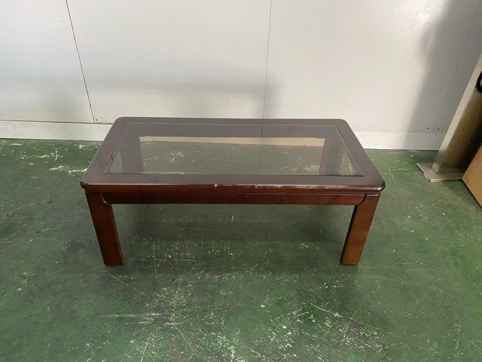 二手家具全省估價(大台北冠均 新五店)二手貨中心--自然簡潔質優木製大茶几 客廳桌 長桌 邊桌 T-9111901