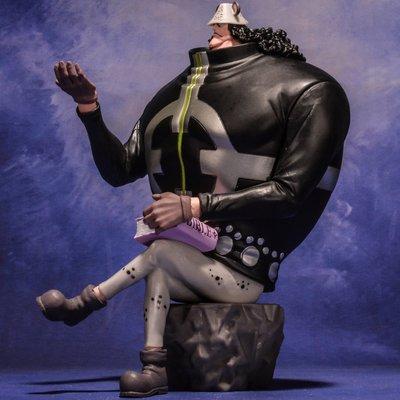 博博  海賊王 模型肉球果實熊航海王擺件暴君大熊 手辦 禮物 模型 擺件