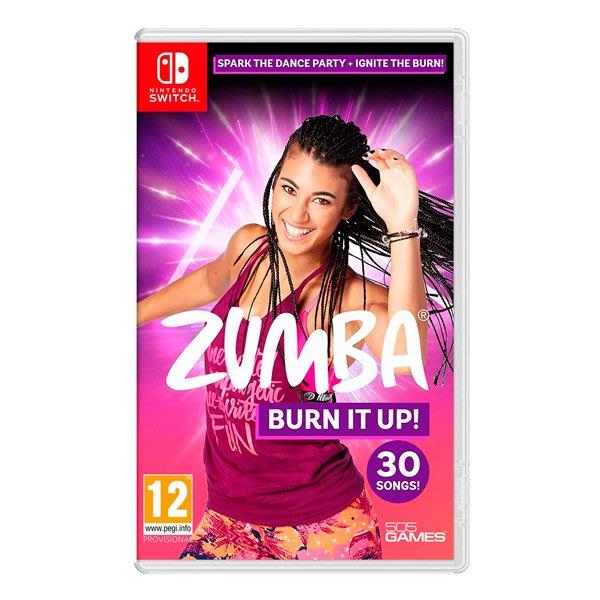 ◮林口歡樂谷◮Switch NS 尊巴健身 (中文版) Zumba Burn It Up 健身舞 (現貨)
