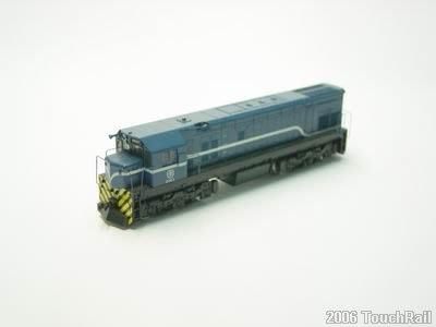 【喵喵模型坊】TOUCH RAIL 鐵支路  R100 柴電機車頭/藍色塗裝動力版 (NR1004)