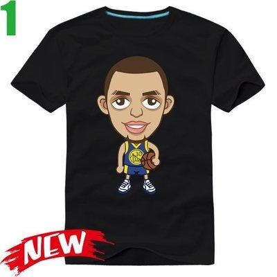 【史蒂芬·柯瑞 Stephen Curry】短袖NBA籃球運動T恤(6種顏色) 任選4件以上每件400元免運費【賣場一】