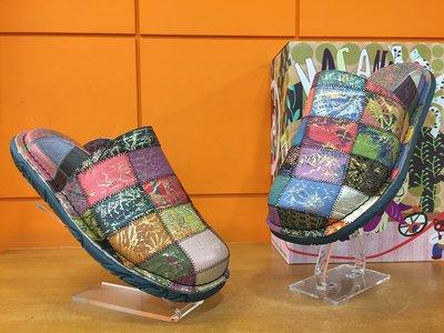 【阿典鞋店】男鞋**Macanna**麥坎納專櫃~穆夏系列~法國漢堡~炫彩配色彩虹鞋~牛皮+羊皮~全新氣墊鞋230170