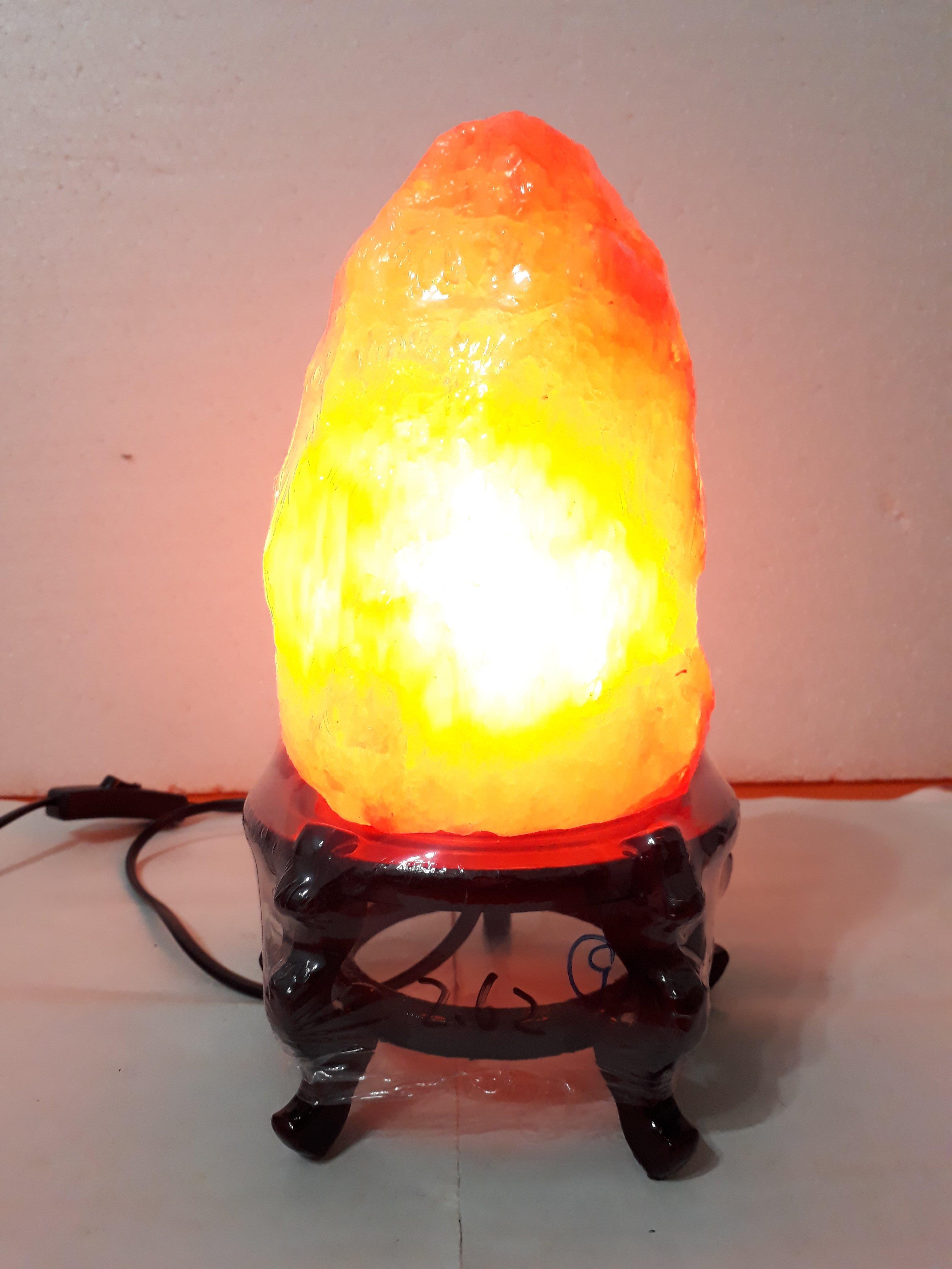 【九龍藝品】鹽   燈 ~ 重量約2.62kg【9】