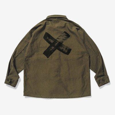 【日貨代購CITY】2020SS WTAPS JUNGLE LS 01 SHIRT SATIN 四口袋 襯衫 2色 現貨