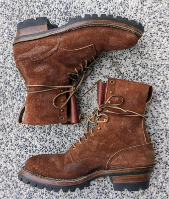 White's Brown Roughout Smokejumper (US 11E)