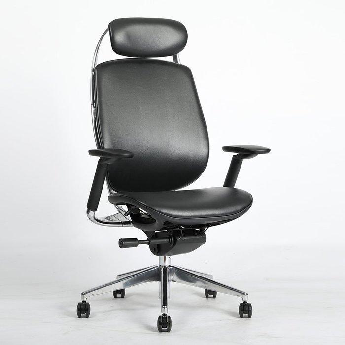 【YOI傢俱】Addax™ Craft 真牛皮 (有頭枕/真牛皮) YBB-X2-1