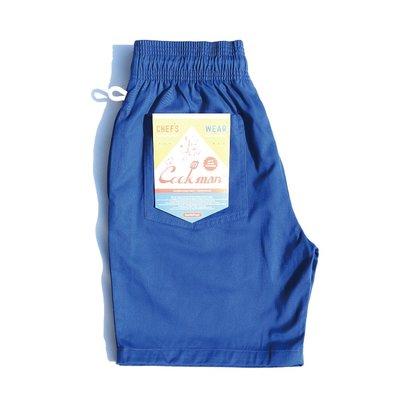 [Spun Shop] Cookman Chef Short Pants寬鬆主廚褲 寶藍色款