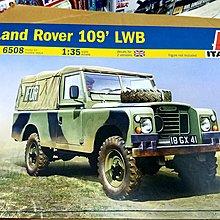 Italeri-6508-1/35-LandRover 109 LWB-w/IFOR & Red Cross marking-M-077
