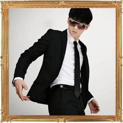 西裝套裝含西裝外套 西裝褲-時尚商務韓版修身男西服成套6x45[韓國進口][米蘭精品]