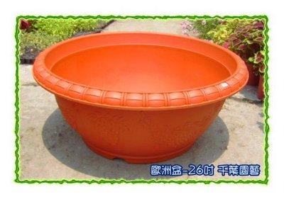 歐洲盆(26吋) / 高級塑膠盆 - 千葉園藝有限公司