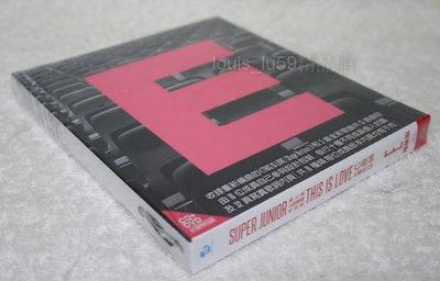 Super Junior 第七張正規專輯特別版 THIS IS LOVE 【台版CD+DVD 銀赫版】EUNHYUK
