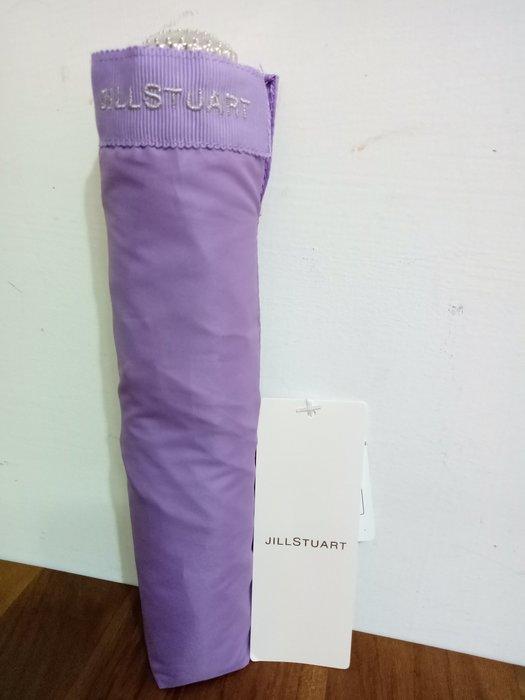 天使熊雜貨小舖~日本帶回JILLSTUART晴雨傘(紫色) 手動收納折傘 附收納袋  ~全新現貨