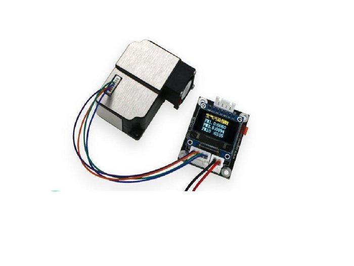 PM1.0/PM2.5/PM10 空氣 粉塵 LCD顯示模組