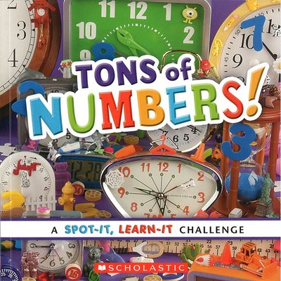 *小貝比的家*TONS OF NUMBERS!/平裝/3~6歲/數字