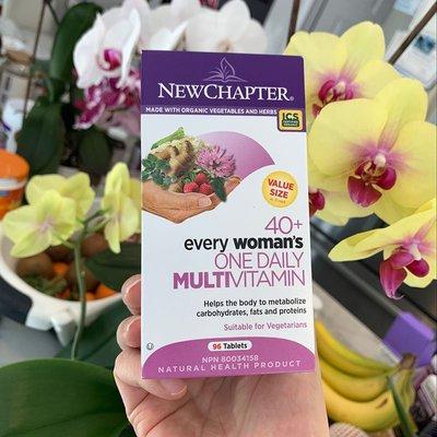 先流正韓保養~加拿大新章New Chapter 40歲+ 中年女性多維復合營養片96片 草本