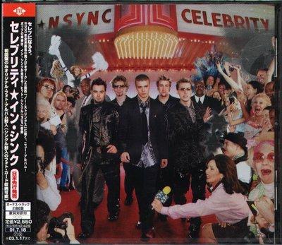 K - N Sync - Celebrity - 日版 +2BONUS  - NEW  Nsync