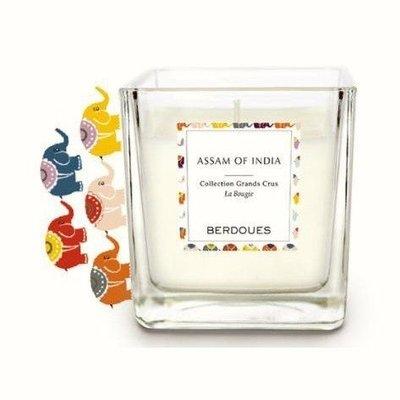 法式香氛蠟燭-印度阿薩姆180G(隨機贈送YANKEE 祈禱燭49g)