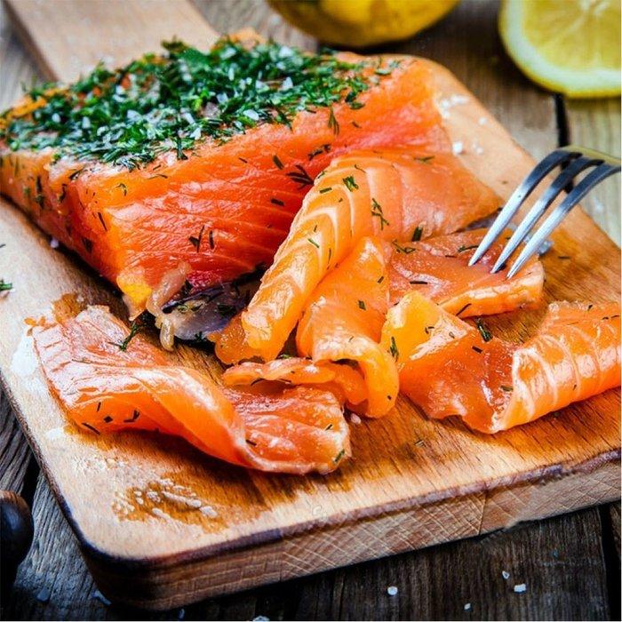 ㊣盅龐水產 ◇煙燻鮭魚500g裝◇500g±5%/包 零$470/包 煙鮭切片 鮭魚 歡迎團購