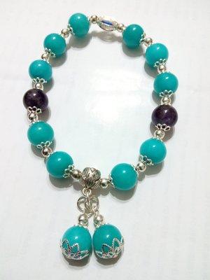 【九龍藝品】設計款水晶手珠 ~ 彈性線,珠子約10mm (8)