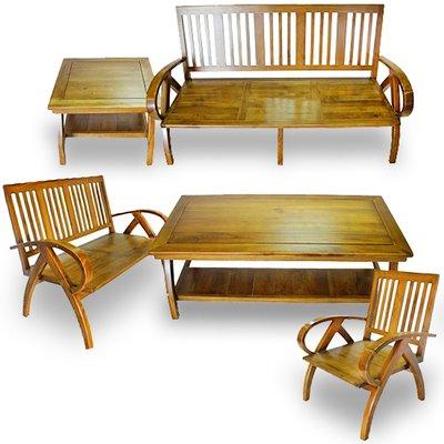 悠活柚木沙發/組椅 南洋海島度假風(特價出清價)