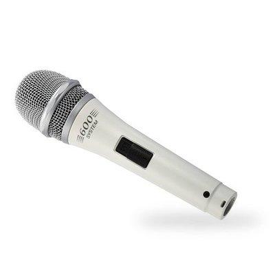 【名人樂器全館免運】TEV TM-600 專業型麥克風 適用於家庭卡啦OK唱歌用/效果保證一級棒