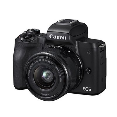 【eWhat億華】特價出清 Canon EOS M50 搭 EF-M 15-45MM 單鏡組 EOSM50 公司貨 黑色【2】參考 EOSM6