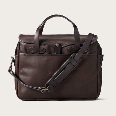 【美國 Filson】Original Sierra Brown防水皮革公事包 真皮手提包 手提袋 側背包 書包 美國製