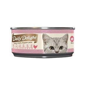 BBUY 爵士貓吧 鮪魚 雞肉 Daily Delight Mousse 美味肉泥罐 幼貓 食慾不佳  餵食藥物 單罐