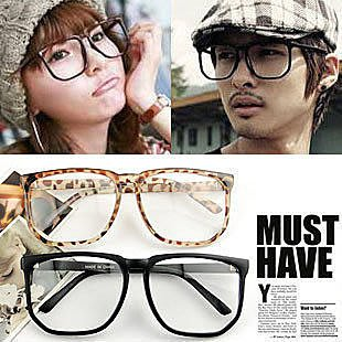 非主流時尚眼鏡架 復古大框眼鏡架眼鏡框平光鏡框 眼鏡男女適用