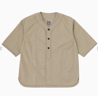 VISVIM DUGOUT SHIRT S/S 棒球衫 0221905011009。太陽選物社